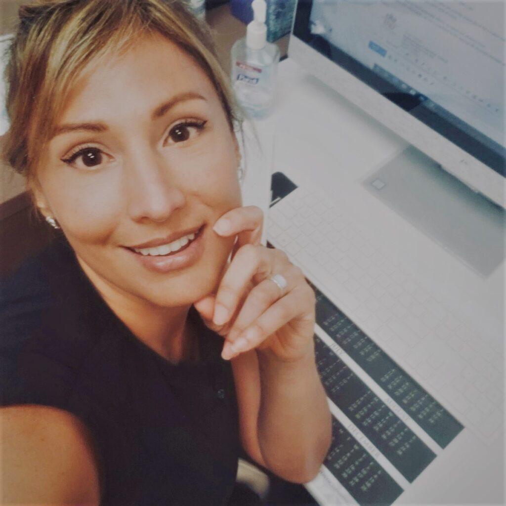 Ms Joamna Salinas, Lead Aesthetician